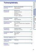 Sony DSC-S1900 - DSC-S1900 Istruzioni per l'uso Finlandese - Page 6