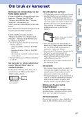 Sony DSC-S1900 - DSC-S1900 Istruzioni per l'uso Norvegese - Page 3