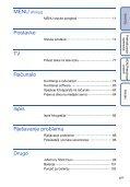 Sony DSC-W320 - DSC-W320 Istruzioni per l'uso Croato - Page 6