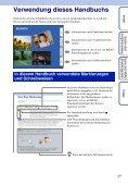 Sony DSC-W370 - DSC-W370 Istruzioni per l'uso Tedesco - Page 2