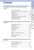 Sony DSC-W370 - DSC-W370 Istruzioni per l'uso Turco - Page 5
