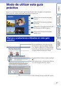 Sony DSC-W190 - DSC-W190 Istruzioni per l'uso Spagnolo - Page 2