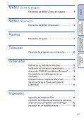 Sony DSC-W190 - DSC-W190 Istruzioni per l'uso Spagnolo - Page 5