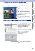 Sony DSC-W320 - DSC-W320 Istruzioni per l'uso Croato - Page 2