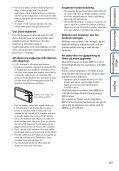 Sony DSC-TX9 - DSC-TX9 Istruzioni per l'uso Svedese - Page 4