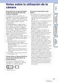 Sony DSC-TX9 - DSC-TX9 Istruzioni per l'uso Spagnolo - Page 3