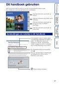 Sony DSC-W320 - DSC-W320 Istruzioni per l'uso Olandese - Page 2