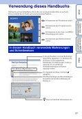 Sony DSC-W320 - DSC-W320 Istruzioni per l'uso Tedesco - Page 2