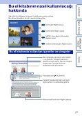 Sony DSC-W190 - DSC-W190 Istruzioni per l'uso Turco - Page 2