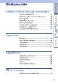 Sony DSC-W320 - DSC-W320 Istruzioni per l'uso Finlandese - Page 5