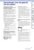 Sony DSC-W370 - DSC-W370 Istruzioni per l'uso Olandese - Page 3