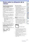 Sony DSC-W370 - DSC-W370 Istruzioni per l'uso Spagnolo - Page 3