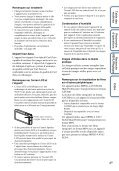Sony DSC-TX9 - DSC-TX9 Istruzioni per l'uso Francese - Page 4