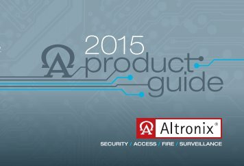 More Than Just power! - Altronix Corporation