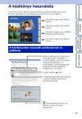 Sony DSC-HX5 - DSC-HX5 Istruzioni per l'uso Ungherese - Page 2