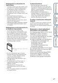 Sony DSC-HX5 - DSC-HX5 Istruzioni per l'uso Ungherese - Page 4