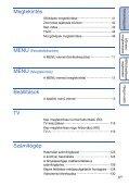 Sony DSC-HX5 - DSC-HX5 Istruzioni per l'uso Ungherese - Page 6