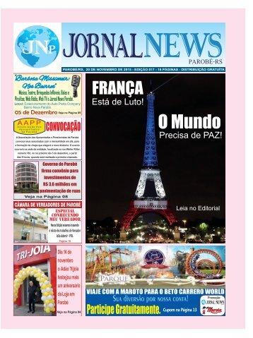 Jornal News Parobé - Edição 17 (20/11/2015)