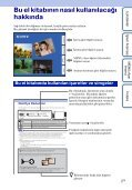 Sony DSC-TX9 - DSC-TX9 Istruzioni per l'uso Turco - Page 2