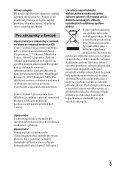Sony DSC-RX1R - DSC-RX1R Istruzioni per l'uso Ceco - Page 3