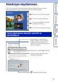 Sony DSC-HX5 - DSC-HX5 Istruzioni per l'uso Finlandese - Page 2