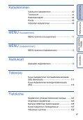 Sony DSC-HX5 - DSC-HX5 Istruzioni per l'uso Finlandese - Page 6