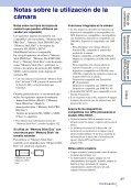 Sony DSC-HX5 - DSC-HX5 Istruzioni per l'uso Spagnolo - Page 3