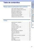 Sony DSC-HX5 - DSC-HX5 Istruzioni per l'uso Spagnolo - Page 5