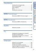 Sony DSC-HX5 - DSC-HX5 Istruzioni per l'uso Spagnolo - Page 6