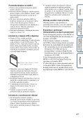 Sony DSC-HX5 - DSC-HX5 Istruzioni per l'uso Slovacco - Page 4