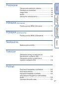 Sony DSC-HX5 - DSC-HX5 Istruzioni per l'uso Slovacco - Page 6