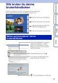 Sony DSC-HX5 - DSC-HX5 Istruzioni per l'uso Norvegese - Page 2