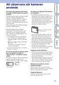 Sony DSC-S2100 - DSC-S2100 Istruzioni per l'uso Svedese - Page 3