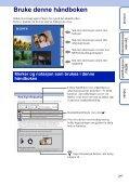 Sony DSC-S2100 - DSC-S2100 Istruzioni per l'uso Norvegese - Page 2