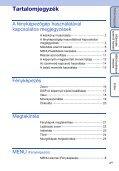 Sony DSC-S2100 - DSC-S2100 Istruzioni per l'uso Ungherese - Page 4