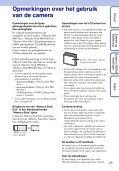 Sony DSC-S2100 - DSC-S2100 Istruzioni per l'uso Olandese - Page 3