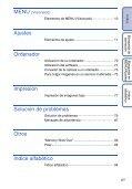 Sony DSC-S2100 - DSC-S2100 Istruzioni per l'uso Spagnolo - Page 6