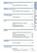 Sony DSC-TX5 - DSC-TX5 Istruzioni per l'uso Svedese - Page 6