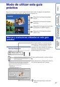 Sony DSC-TX5 - DSC-TX5 Istruzioni per l'uso Spagnolo - Page 2