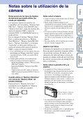 Sony DSC-TX5 - DSC-TX5 Istruzioni per l'uso Spagnolo - Page 3