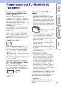 Sony DSC-S2100 - DSC-S2100 Istruzioni per l'uso Francese - Page 3