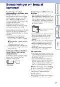 Sony DSC-S2100 - DSC-S2100 Istruzioni per l'uso Danese - Page 3
