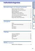 Sony DSC-S2100 - DSC-S2100 Istruzioni per l'uso Danese - Page 4
