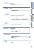 Sony DSC-S2100 - DSC-S2100 Istruzioni per l'uso Tedesco - Page 6