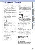 Sony DSC-S2100 - DSC-S2100 Istruzioni per l'uso Norvegese - Page 3