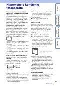 Sony DSC-W330 - DSC-W330 Istruzioni per l'uso Croato - Page 3