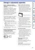 Sony DSC-S2100 - DSC-S2100 Istruzioni per l'uso Polacco - Page 3