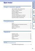 Sony DSC-S2100 - DSC-S2100 Istruzioni per l'uso Polacco - Page 4