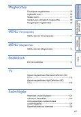 Sony DSC-TX5 - DSC-TX5 Istruzioni per l'uso Ungherese - Page 6
