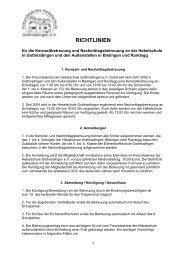 Richtlinien - Hebelschule Grundschule Gottmadingen